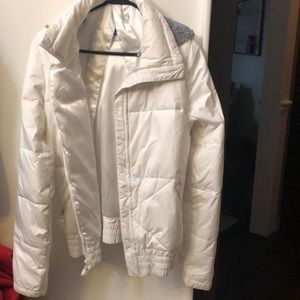 Columbia white jacket